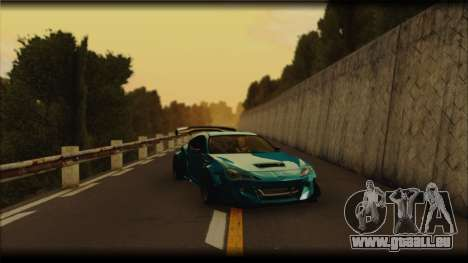 Toyota GT86 Customs Rocket Bunny für GTA San Andreas rechten Ansicht
