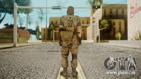 Venom Snake Wetwork für GTA San Andreas dritten Screenshot