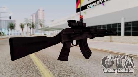 AK-103 from Special Force 2 pour GTA San Andreas deuxième écran