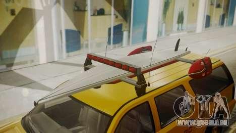 GTA 5 Declasse Granger Lifeguard IVF für GTA San Andreas rechten Ansicht