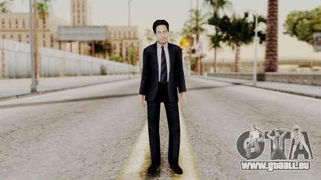 Agent Mulder (X-Files) pour GTA San Andreas deuxième écran