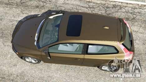 GTA 5 Volvo C30 T5 vue arrière