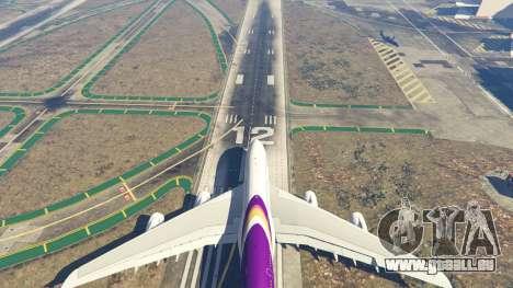GTA 5 Airbus A380-800 v1.1 huitième capture d'écran
