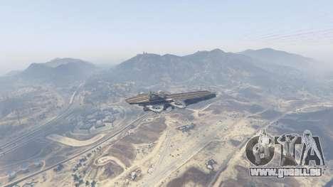 GTA 5 S.H.I.E.L.D. Helicarrier dritten Screenshot