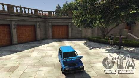 GTA 5 VAZ 1111 Oka arrière droit vue de côté