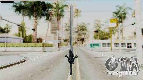 Katana from RE6 pour GTA San Andreas deuxième écran