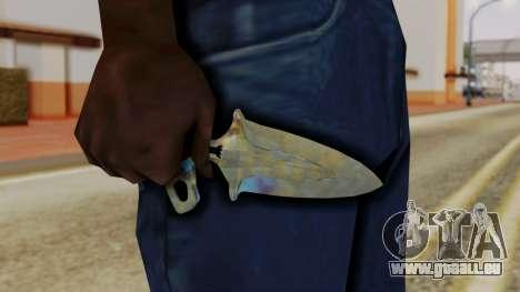 L'ombre de la Dague de durcissement de Surface pour GTA San Andreas troisième écran
