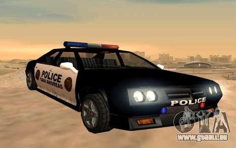 Quatre de police de Buffalo pour GTA San Andreas