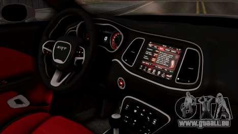 Dodge Challenger SRT Hellcat 2015 HQLM PJ für GTA San Andreas rechten Ansicht