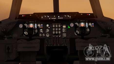 DC-10-10 Western Airlines für GTA San Andreas Rückansicht