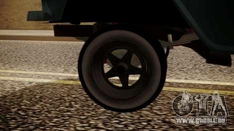 Chevrolet Bel Air Gasser pour GTA San Andreas sur la vue arrière gauche