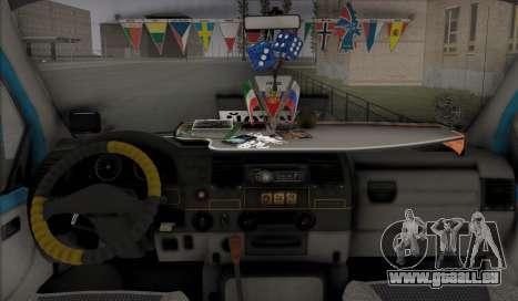 GAZelle 33023 Farmer pour GTA San Andreas vue intérieure
