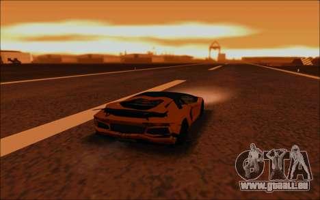 Lamborghini Aventador MV.1 [IVF] für GTA San Andreas Unteransicht