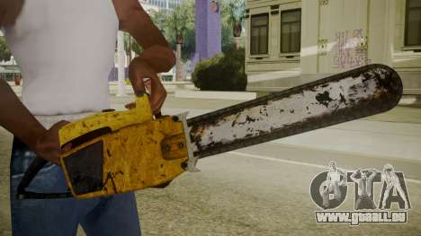 Atmosphere Chainsaw v4.3 für GTA San Andreas dritten Screenshot