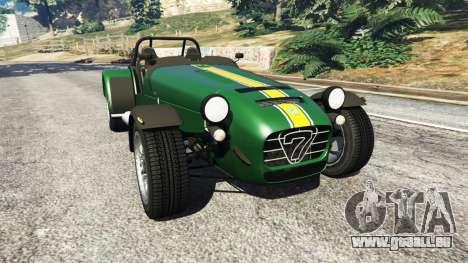 Caterham Super Seven 620R v1.5 [green] für GTA 5