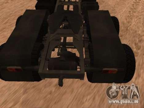 ZIL-133 05A für GTA San Andreas Rückansicht