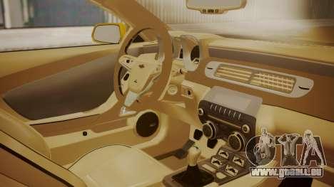 Chevrolet Camaro SS 2015 für GTA San Andreas rechten Ansicht