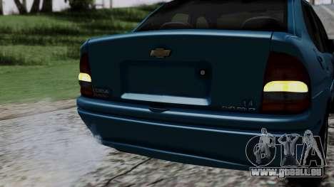 Chevrolet Corsa Classic 2009 v3 für GTA San Andreas Unteransicht