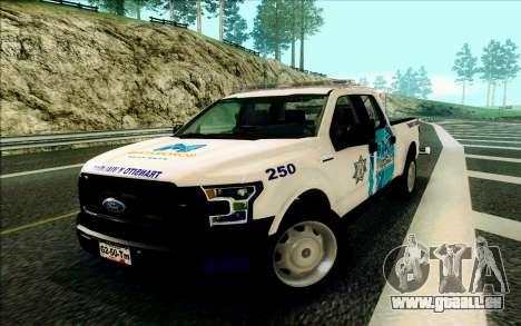 Ford F150 2015 Towtruck für GTA San Andreas
