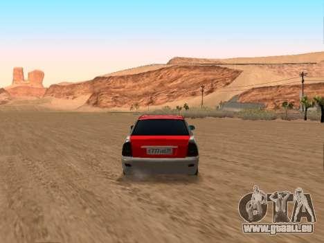 VAZ 2170 für GTA San Andreas rechten Ansicht