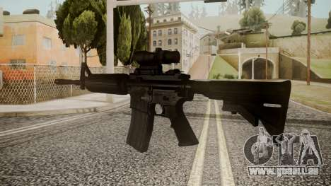 M4 by catfromnesbox für GTA San Andreas zweiten Screenshot