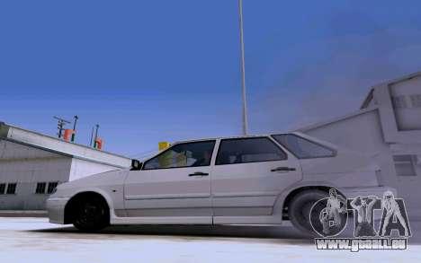 2114 Turbo pour GTA San Andreas vue de côté