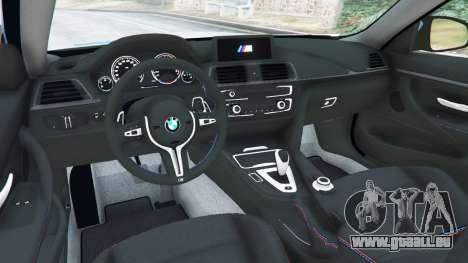 GTA 5 BMW M4 (F82) WideBody hinten rechts