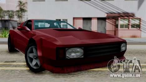 Cheetah from Vice City Stories für GTA San Andreas rechten Ansicht