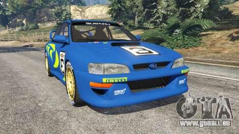 Subaru Impreza WRC 1998 pour GTA 5