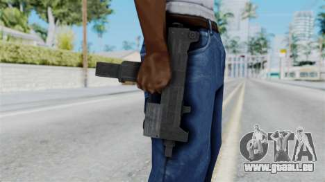 Misro SMG from RE6 für GTA San Andreas dritten Screenshot