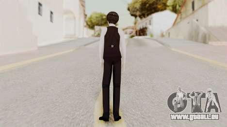Kaneki Anteiku (Tokyo Ghoul) pour GTA San Andreas troisième écran
