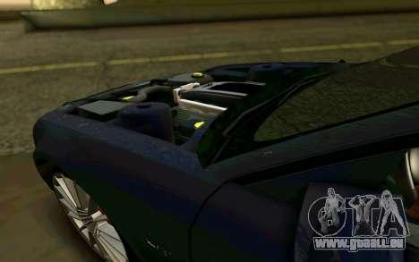 Ford Mustang GT 2005 für GTA San Andreas Unteransicht