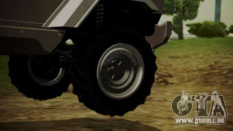 GTA 5 HVY Insurgent für GTA San Andreas zurück linke Ansicht