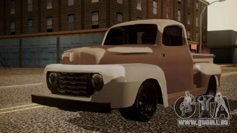 Ford F-100 1948 Simple Black Edition pour GTA San Andreas