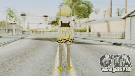 Project Diva F 2nd - Kagamine Rin Cheerful Candy pour GTA San Andreas troisième écran
