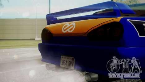 Elegy NR32 without Neon Exclusive PJ pour GTA San Andreas vue de droite