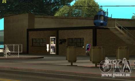 Remplacement de textures pour l'école de Conduit pour GTA San Andreas troisième écran