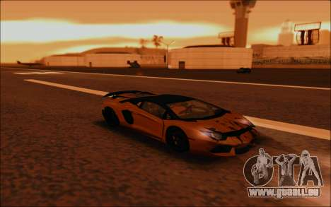 Lamborghini Aventador MV.1 [IVF] für GTA San Andreas obere Ansicht