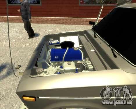Ваз 2106 Kavkaz Style pour GTA 4 Vue arrière