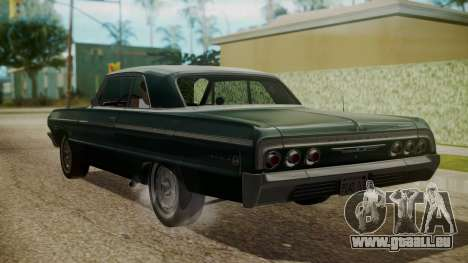 Chevrolet Impala SS 1964 Low Rider für GTA San Andreas linke Ansicht