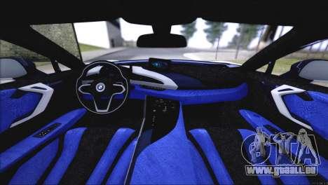 BMW i8 Coupe 2015 für GTA San Andreas