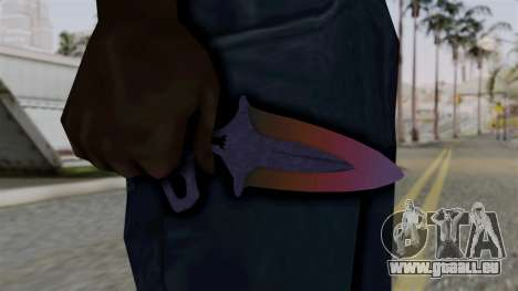 Shadow Dagger Gradient pour GTA San Andreas troisième écran