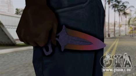 Shadow Dagger Gradient für GTA San Andreas dritten Screenshot