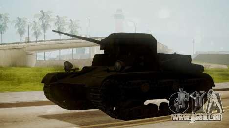 T2 Light Tank für GTA San Andreas