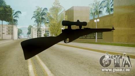 Atmosphere Sniper Rifle v4.3 pour GTA San Andreas deuxième écran