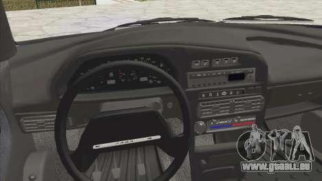 VAZ 2115 Abfluss für GTA San Andreas Rückansicht