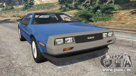 DeLorean DMC-12 v1.1 pour GTA 5