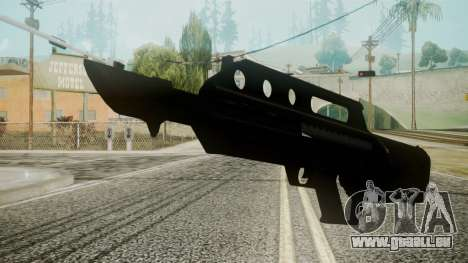 MK3A1 Battlefield 3 pour GTA San Andreas deuxième écran