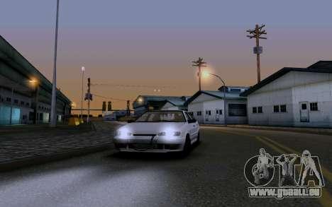 2114 Turbo pour GTA San Andreas salon