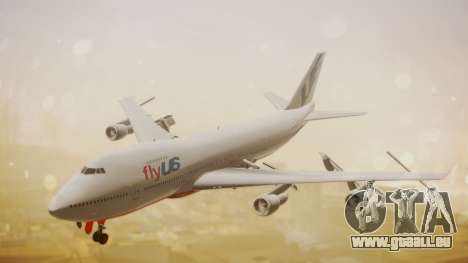 Boeing 747-200 Fly US pour GTA San Andreas